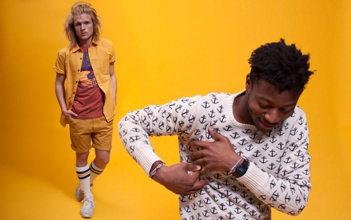 RVLT Alec košile, RVLT Idol triko, RVLT Jerry šortky, RVLT Socker ponožky, RVLT Ian svetr