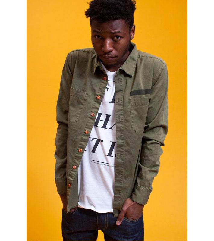 RVLT Terkel košile, RVLT Cover triko, RVLT Anker kalhoty