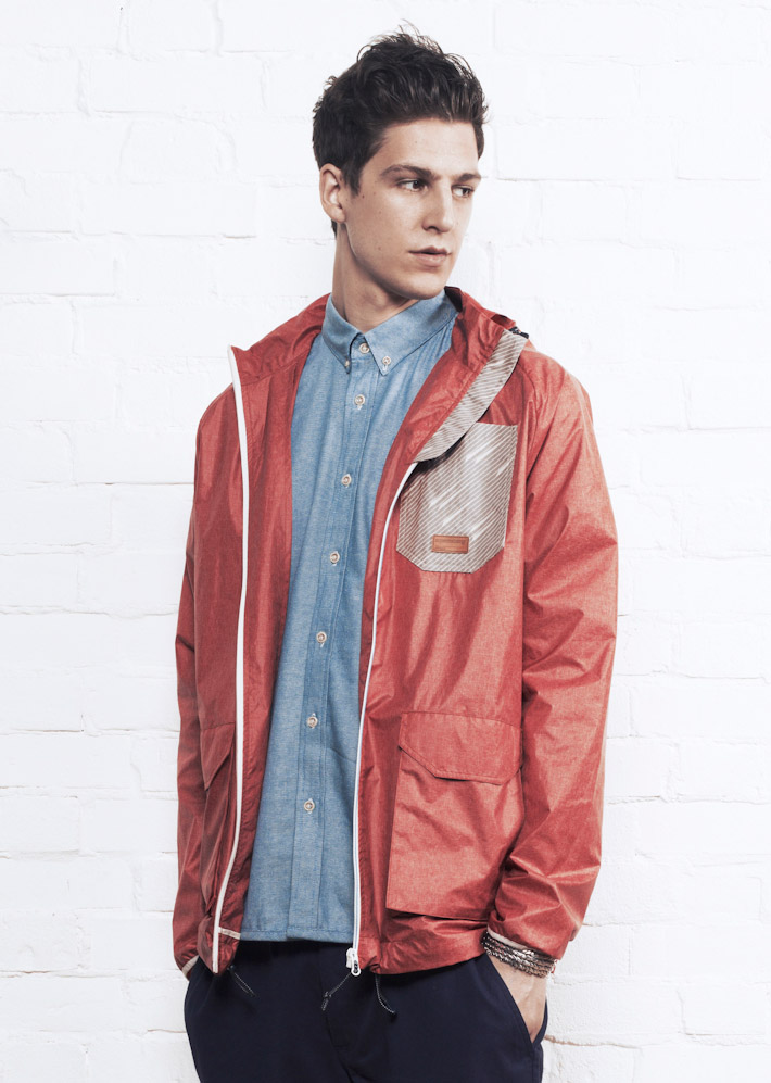 Supremebeing bunda Jacket Balast Red