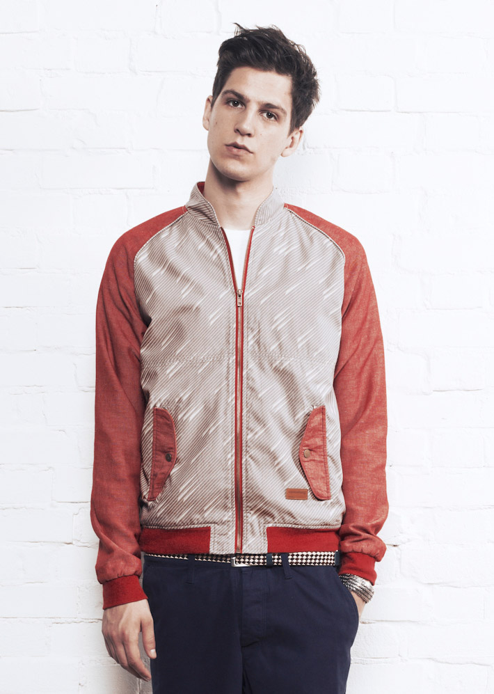Supremebeing bunda Jacket Sammy Madras Grey