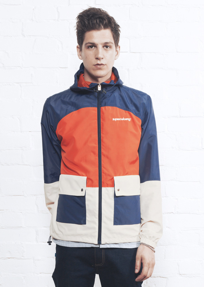 Supremebeing bunda Windrunner Scout Blue