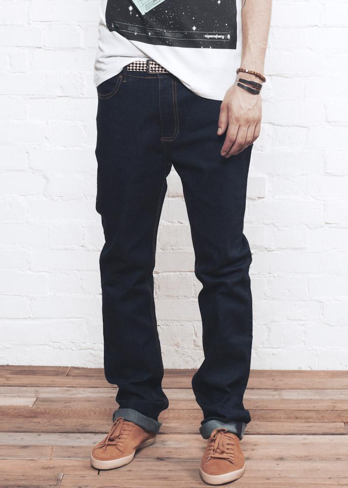 Supremebeing kalhoty Pack Indigo