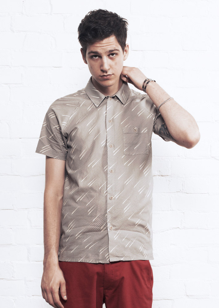 Supremebeing košile Shirts Tribeca Madras Grey