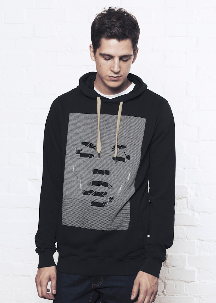 Supremebeing mikina Hoods Interference Black