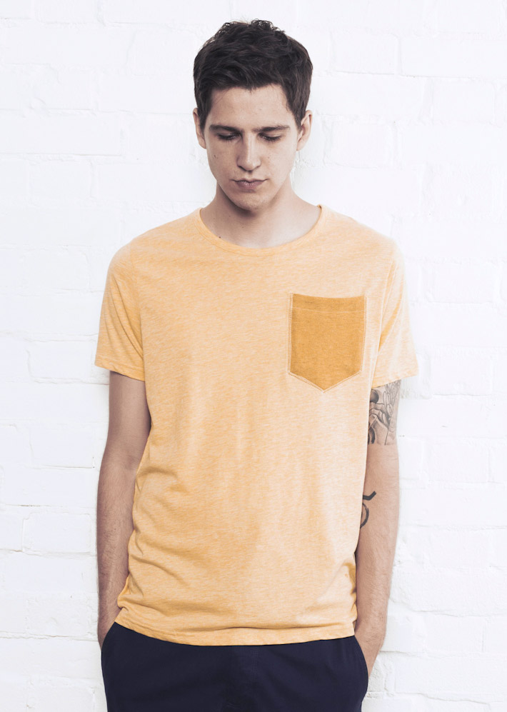 Supremebeing triko Tops Signature Tee Yellow