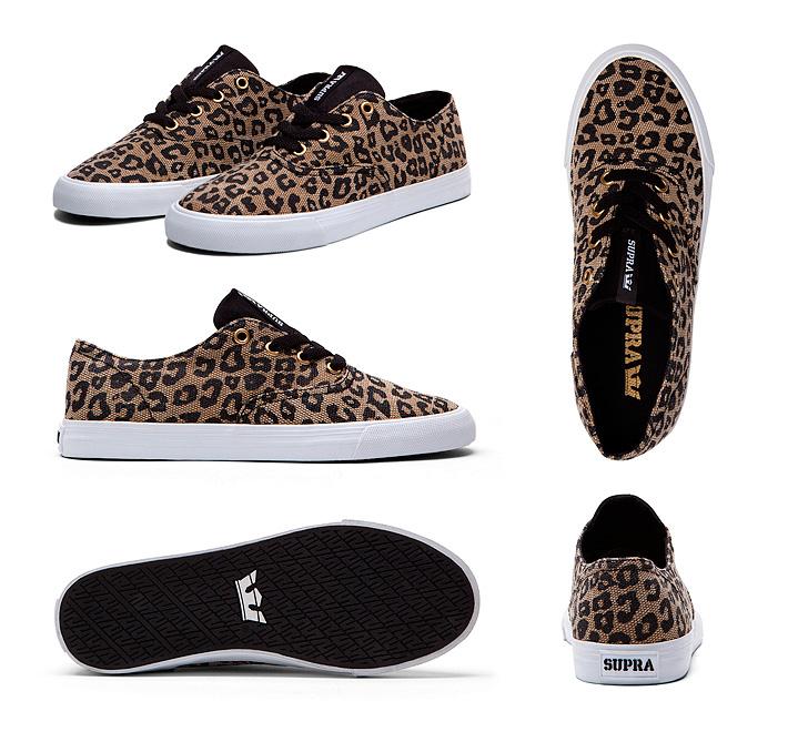 Boty Supra Wrap Cheetah dámské