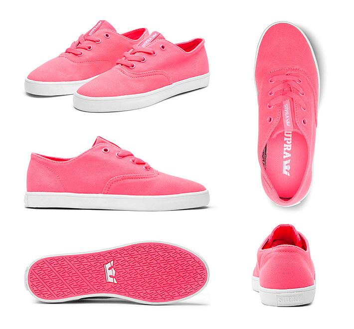Boty Supra Wrap Pink dámské