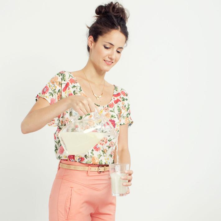 Loreak Mendian Bossa top, Jane kalhoty