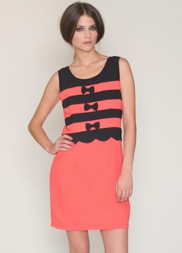 Pepa Loves Ofelia Coral šaty