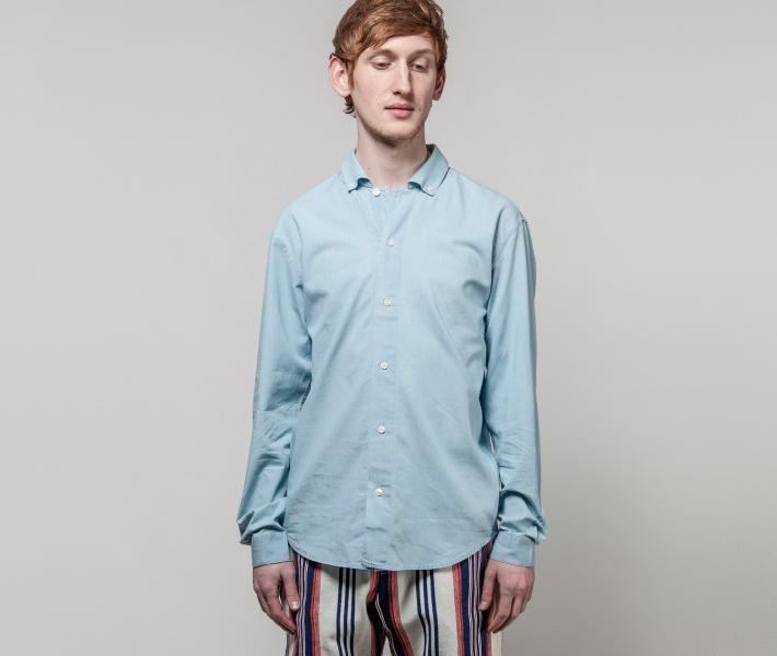 Frisur Lorenz Light Was Blue, modrá košile