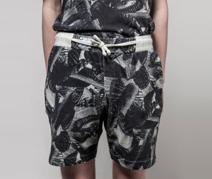 Frisur Kurt Seashore Black, černé šortky