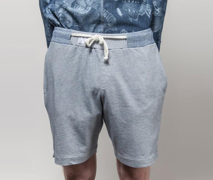 Frisur Kurt Light Wash Blue, modré šortky