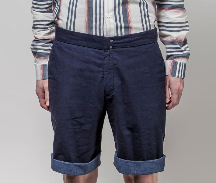 Frisur Bernd Navy, modré šortky