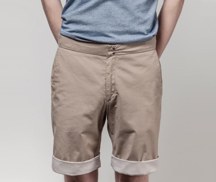 Frisur Bernd Beige, béžové šortky