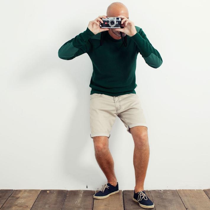 Loreak Mendian Crewneck svetr, Redondo šortky