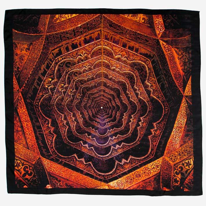 Leif Podhajsky šátek Follow Purplegold