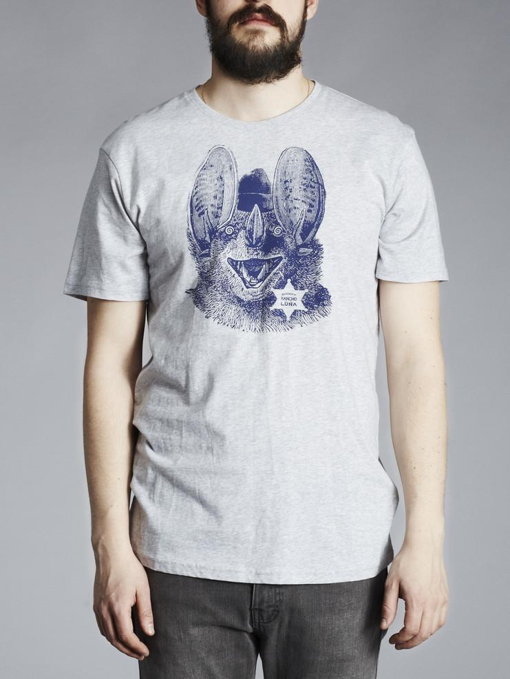 Makia pánské triko šedé