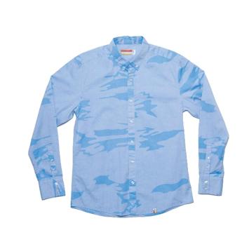 Slvdr Armitage Blue, modrá košile