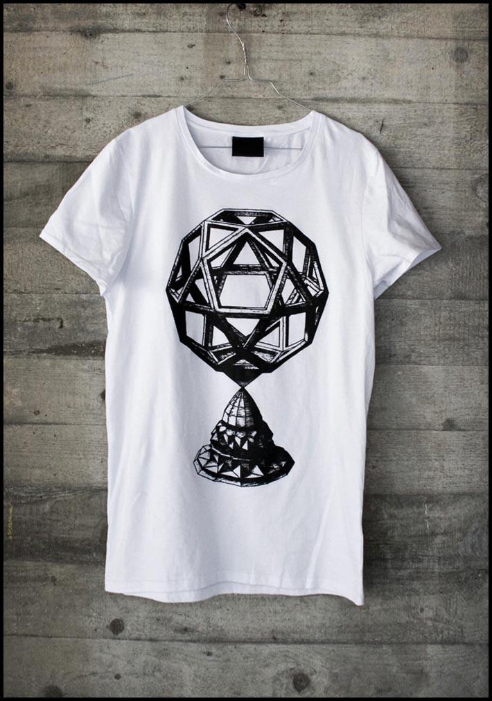 Trinitas triko, tričko s potiskem