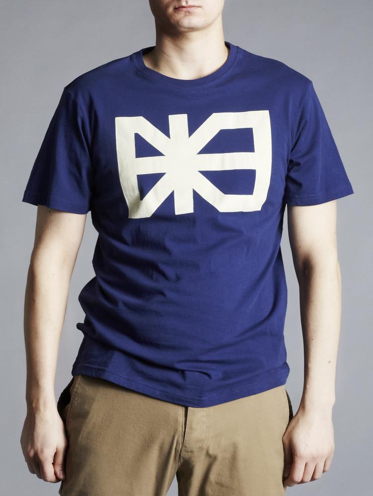Makia pánské triko modré