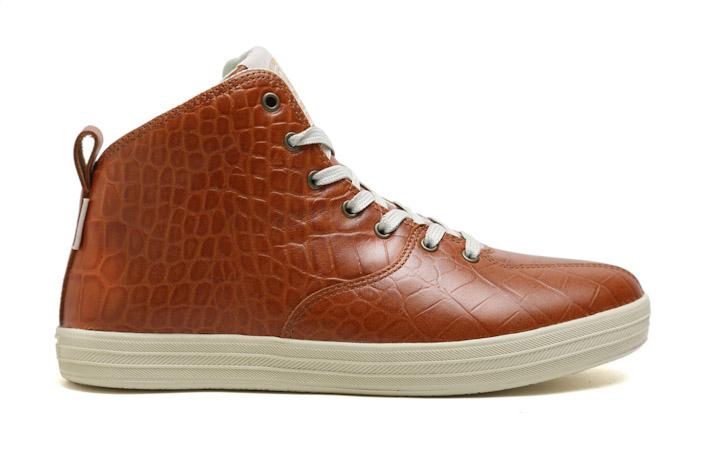 Gourmet kotníkové boty hnědé