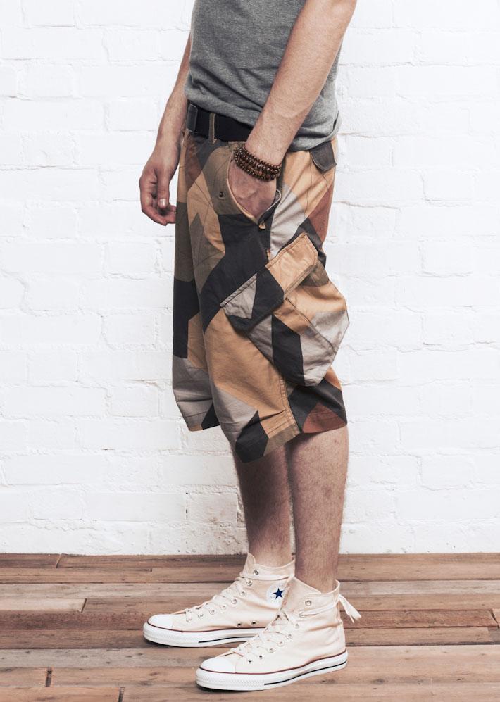 Supremebeing D-OPS DPM, pánské šortky