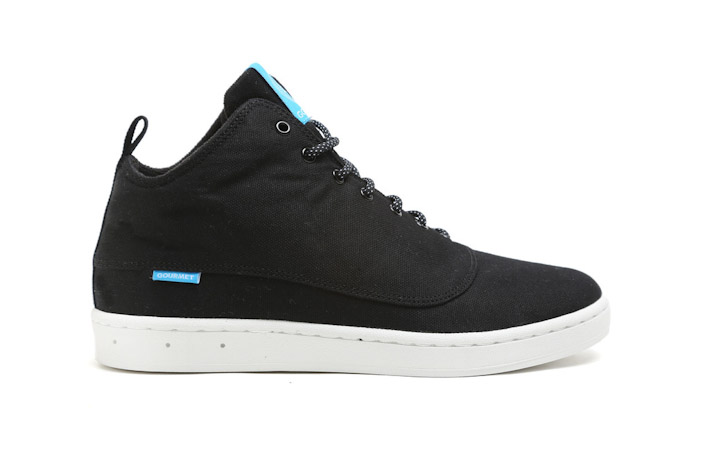 Gourmet kotníkové boty černé