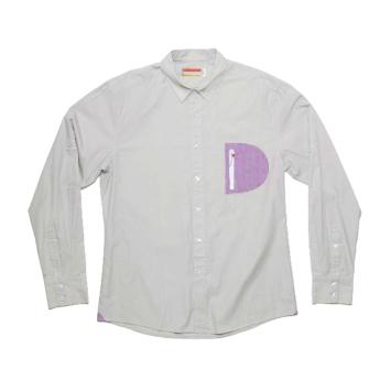 Slvdr Hamlin Lt Grey, šedé košile