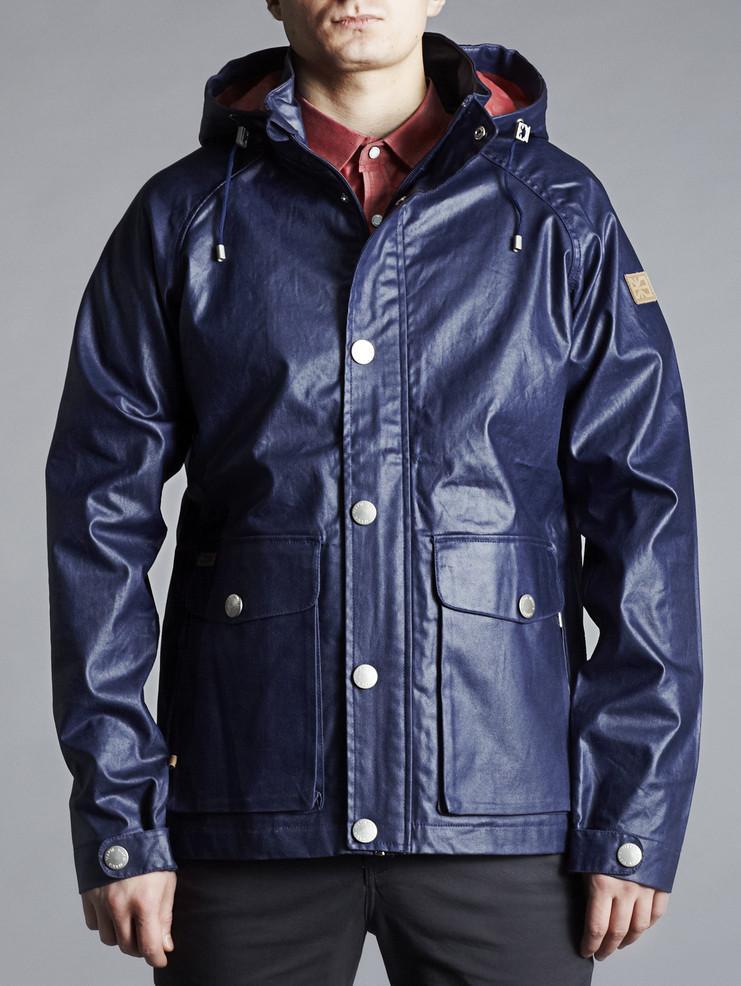 Makia pánská bunda modrá