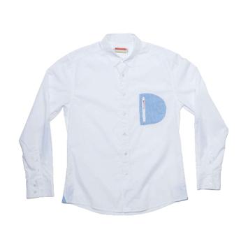 Slvdr Hamlin White, bílá košile
