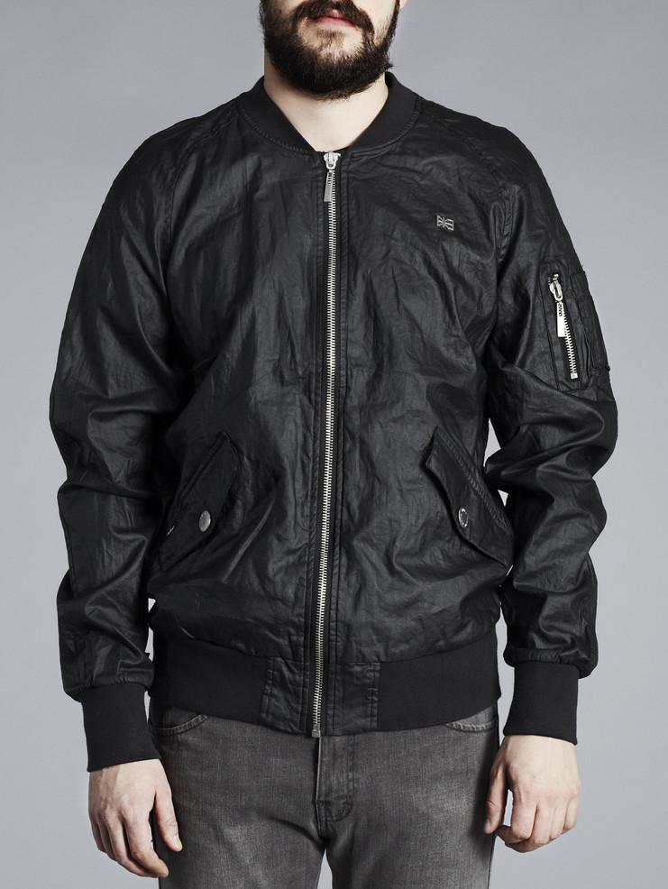 Makia pánská bunda černá