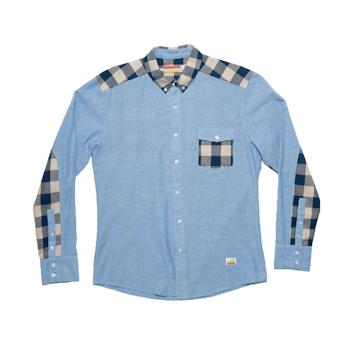 Slvdr Harding Lt Blue, modrá košile