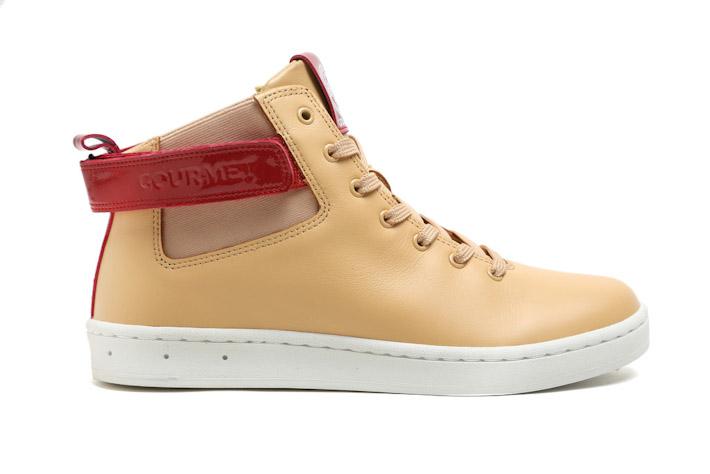 Gourmet kotníkové boty béžové