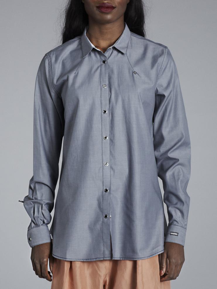 Makia dámská šedá košile
