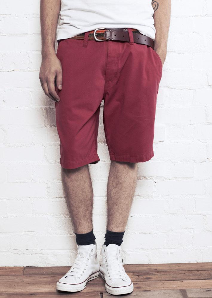 Supremebeing Cabana Red, pánské šortky červené
