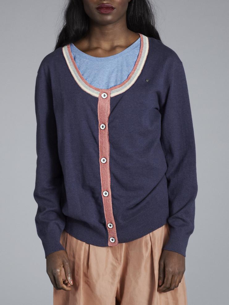 Makia dámský modrý svetr