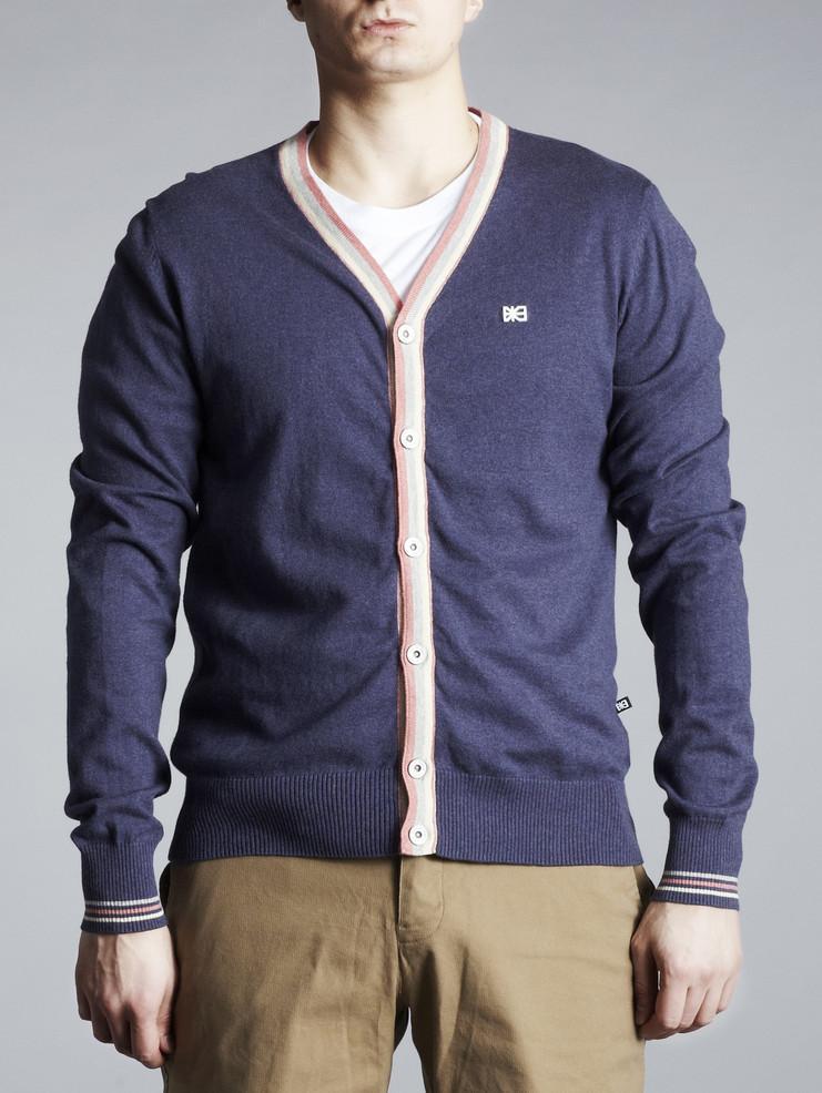Makia pánský svetr modrý