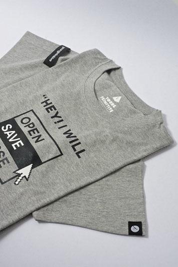 Youngprimitive Save the World pánské šedé tričko spotiskem