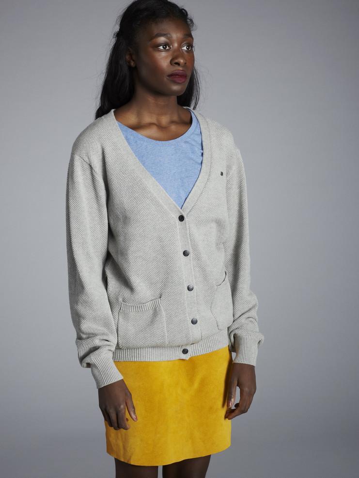 Makia dámský šedý svetr