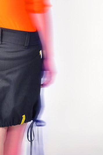 Pattern dámská sukně černá