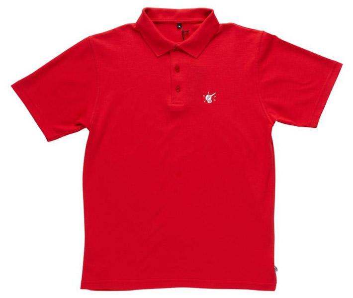 Rockwell by Para tričko polo červené