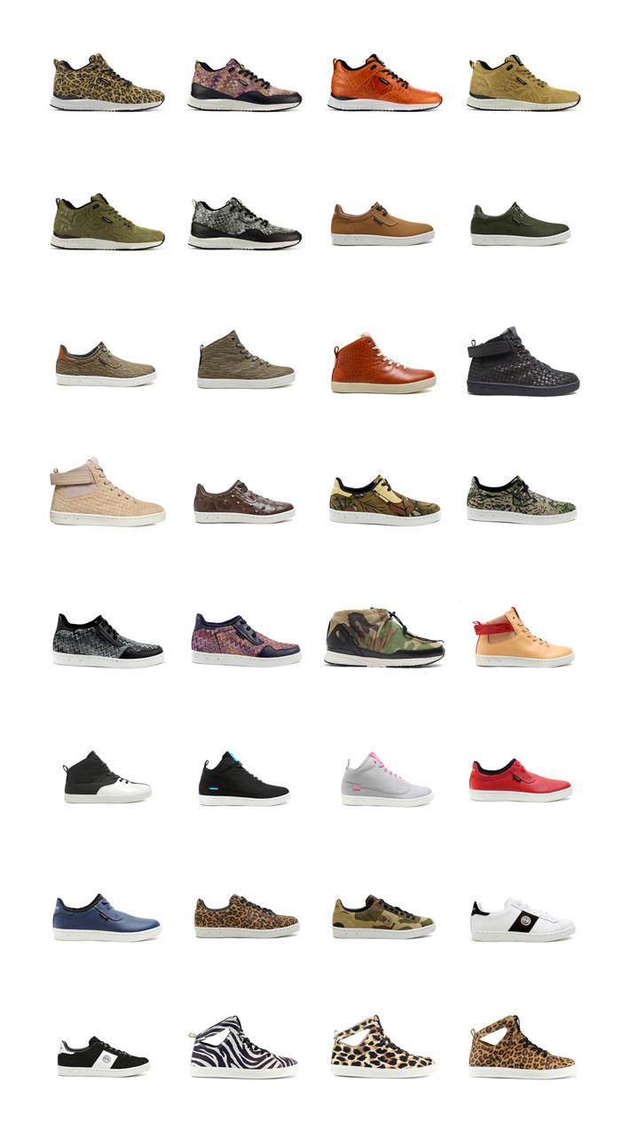 Gourmet kotníkové boty atenisky