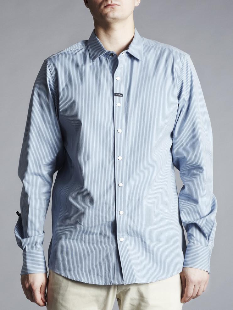 Makia pánská košile světle modrá
