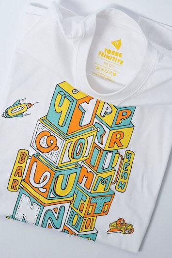 Youngprimitive The City pánské tričko spotiskem