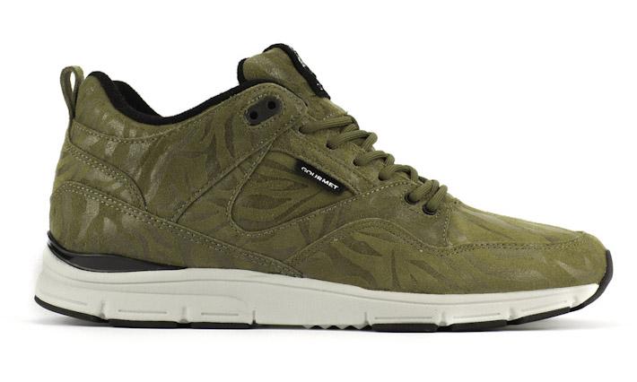 Gourmet kotníkové boty zelené
