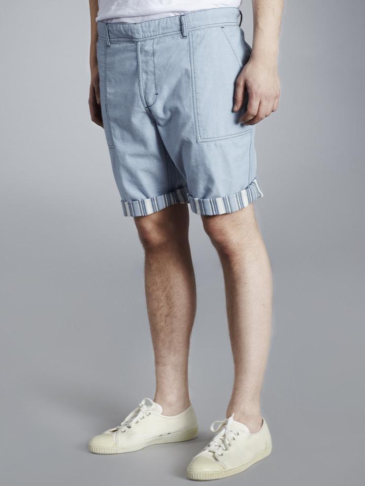 Makia pánské šortky světle modré