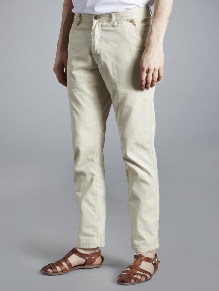 Makia pánské kalhoty béžové