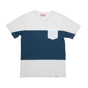 Slvdr Pratt North Sea, bílo-modré triko
