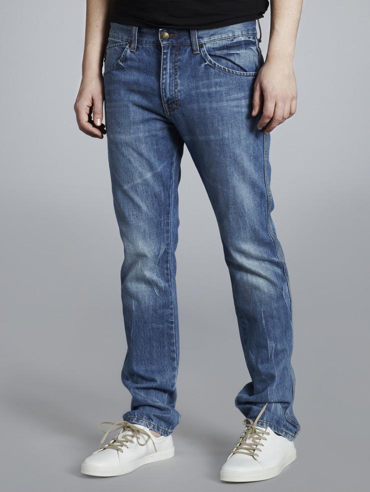 Makia pánské jeansy modré