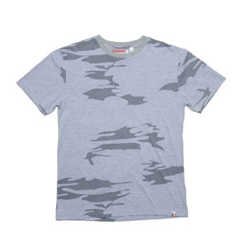 Slvdr Rewster Lt Grey, šedé triko